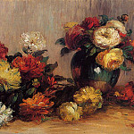 Sprays of Flowers - 1880, Pierre-Auguste Renoir