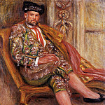 Ambroise Vollard Dressed as a Toreador - 1917, Pierre-Auguste Renoir