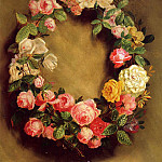 Пьер Огюст Ренуар - Crown of Roses - 1858