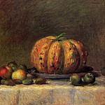 Still Life with Fruit - 1882, Pierre-Auguste Renoir