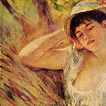 The Sleeper - 1880, Pierre-Auguste Renoir