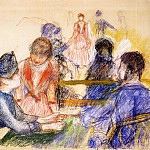 At the Moulin de la Galette - 1875, Pierre-Auguste Renoir