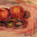 Peaches and Almonds, Pierre-Auguste Renoir