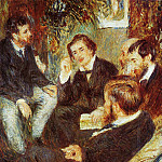 Pierre-Auguste Renoir - The Artists Studio, Rue Saint-Georges - 1876