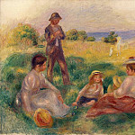 Pierre-Auguste Renoir - Party in the Country at Berneval - 1898