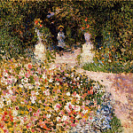 The Garden - 1875, Pierre-Auguste Renoir