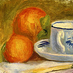Cup and Oranges, Pierre-Auguste Renoir