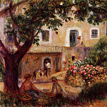 The Farm - 1914, Pierre-Auguste Renoir