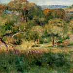 The Edge of the Forest in Brittany – 1893, Pierre-Auguste Renoir