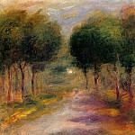 Landscape with Trees, Pierre-Auguste Renoir