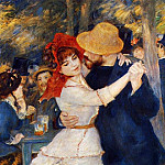 Dance at Bougival, Pierre-Auguste Renoir