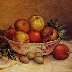 Still Life with Pomegranates - 1893, Pierre-Auguste Renoir