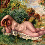 Pierre-Auguste Renoir - Reclining Nude (also known as The Bakers Wife) - 1902