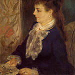 Portrait of an Anonymous Sitter - 1875, Pierre-Auguste Renoir