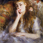 The Thinker - 1877, Pierre-Auguste Renoir