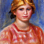 Pierre-Auguste Renoir - Head of a Young Girl