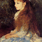 Pierre-Auguste Renoir - Irene Cahen dAnvers (also known as Little Irene) - 1880