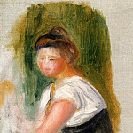 Young Woman , Pierre-Auguste Renoir