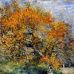 Пьер Огюст Ренуар - The Pear Tree - 1880 - 1889