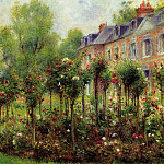 The Rose Garden at Wargemont - 1879, Pierre-Auguste Renoir
