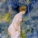 Standing Bather - 1887, Pierre-Auguste Renoir