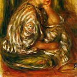 Woman in an Oriental Costume, Pierre-Auguste Renoir