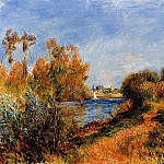 The Seine at Argenteuil – 1888, Pierre-Auguste Renoir
