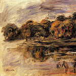 Fishermen by a Lake, Pierre-Auguste Renoir