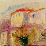 Пьер Огюст Ренуар - Le Poste at Cagnes (study) - 1905