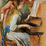 Pierre-Auguste Renoir - Girls at the Piano - 1892