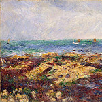 Pierre-Auguste Renoir - Low Tide at Yport - 1883