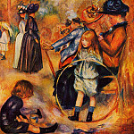 At the Luxembourg Gardens - 1883, Pierre-Auguste Renoir