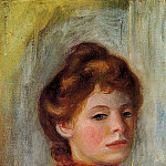 Portrait of a Woman - 1891-1892, Pierre-Auguste Renoir