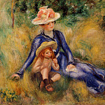 Yvonne and Jean - 1899, Pierre-Auguste Renoir