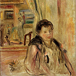 Pierre-Auguste Renoir - Woman in an Interior