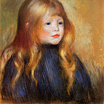 Head of a Child - 1888, Pierre-Auguste Renoir