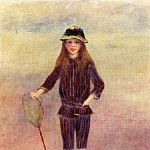 The Little Fishergirl - 1879, Pierre-Auguste Renoir