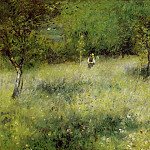 Пьер Огюст Ренуар - Spring at Catou - 1872 - 1873