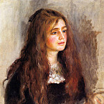 Julie Manet – 1894, Пьер Огюст Ренуар