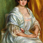 Пьер Огюст Ренуар - Madame Thurneyssen - 1908