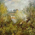 On the Seine, near Argenteuil - 1874, Pierre-Auguste Renoir