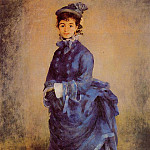 The Parisian - 1874, Pierre-Auguste Renoir