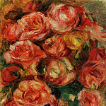 Bouquet of Flowers - 1915, Pierre-Auguste Renoir