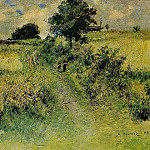 The Field - 1873, Pierre-Auguste Renoir