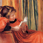 Girl Reading - 1890, Pierre-Auguste Renoir