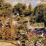 The Garden at Fontenay - 1874, Pierre-Auguste Renoir