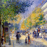 The Great Boulevards - 1875, Pierre-Auguste Renoir