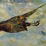 Pheasant in the Snow - 1879, Pierre-Auguste Renoir