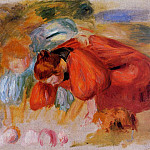 Study for The Croquet Game – 1892, Pierre-Auguste Renoir