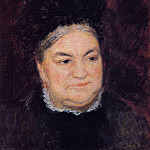 Portrait of an Old Woman - 1878, Pierre-Auguste Renoir